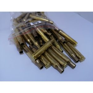 Once Fired 270 Brass Cases x 50