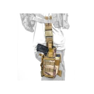 Leg Drop Side Holster Camouflage