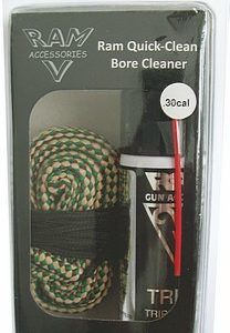 RAM Quick Clean Bore Cleaner/Snake .30 Cal