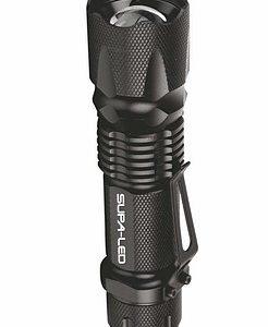 Supa-LED Caracal 5w LED Tactical Flashlight with Clip