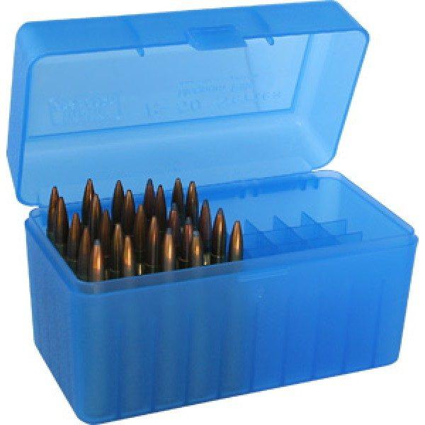MTM Case-Gard Magnum Calibers 50 Round Ammo Box