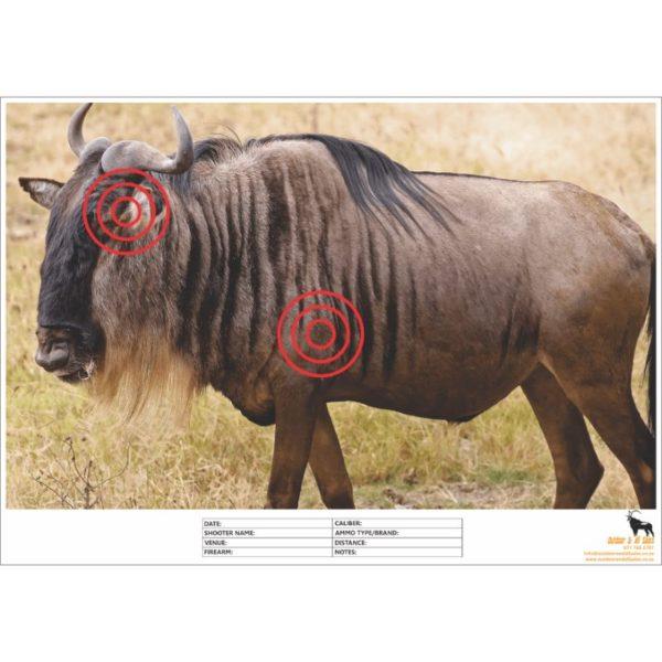 Wildebeest Shooting Target