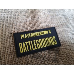 """""""Player Unknown's Battlegrounds"""" Velcro Patch"""