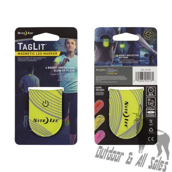 Nite Ize TagLit Magnetic LED Marker - Yellow
