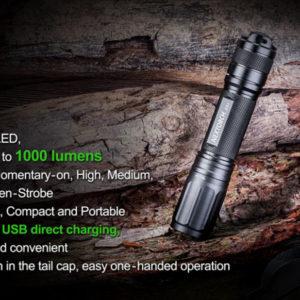 Nextorch E51 - High Output Rechargeable Flashlight