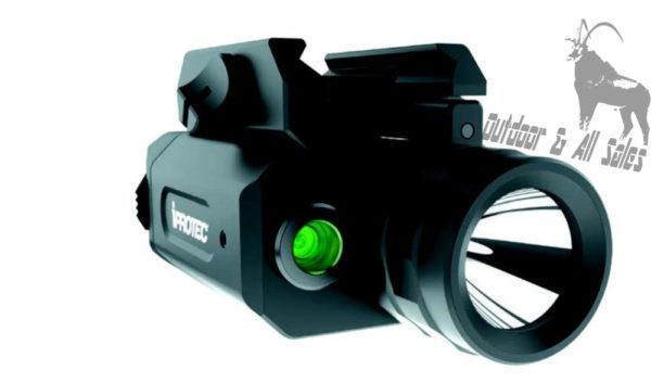 iProtec RM230LSG Green Laser/Flashlight Combo IP6567