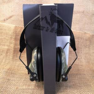 RAM Ear-Tect ET-E3 Electronic Wire Frame Earmuffs - Camo