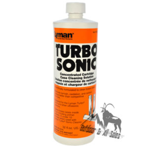 Lyman Sonic Cleaning Solution - Brass