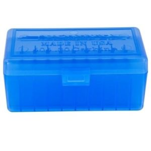 BERRY'S 404 BLUE AMMO BOX (30CARB/22HORNET) 50RD
