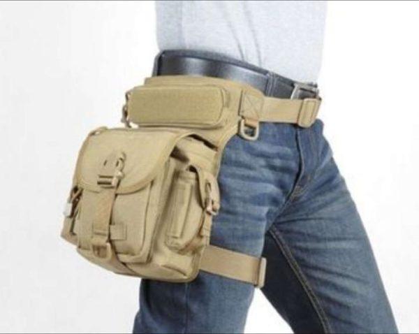 Nylon Thigh Pouch/Bag