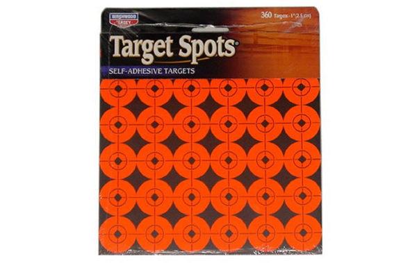 TARGET SPOTS® ORANGE 1 INCH, 360 TARGETS