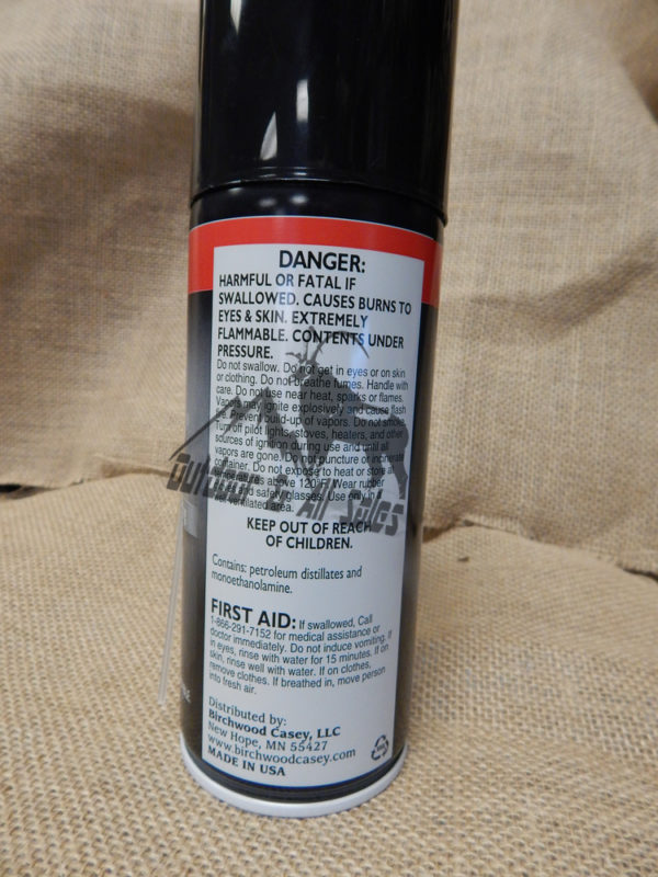 BIRCHWOOD CASEY BORE SCRUBBER® 2-IN-1 CLEANER, 10 FL. OZ. 284 gr AEROSOL