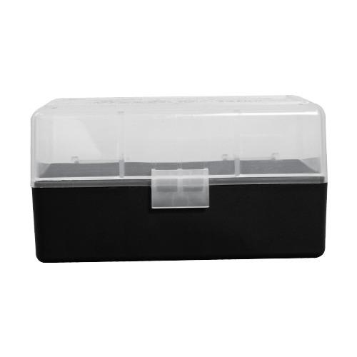 BERRY'S CLEAR/BLACK AMMO BOX #405 (223/5.56) 50rd