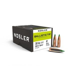 Nosler 30 Caliber (308)165 Grain Ballistic Tip Hunting Bullet (50)