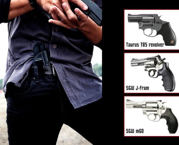 Cytac Holster for Taurus T85 revolver / S&W m60   I-Mini-guard