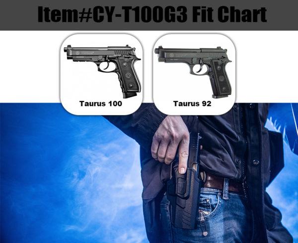 Cytac Holster for Taurus100   R-Defender