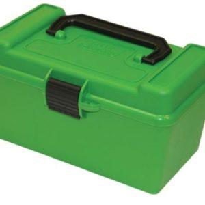MTM H50 Ammo Box .220 Swift to .30-06 - Green (50)