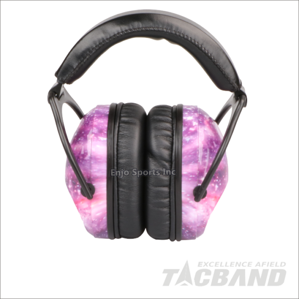 TacBand Passive Ear Muffs-Adult/Youth (Pink)