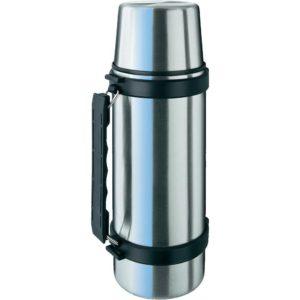Isosteel - Stainless Steel Vacuum Flask 1 Litre - Silver