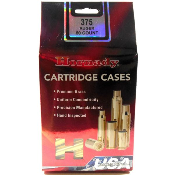 Hornady B 375 Ruger Unprimed Cases (50)