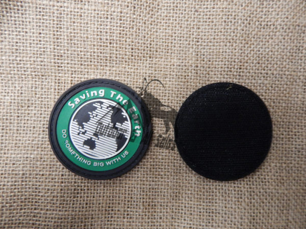 Saving The Earth Velcro Patch