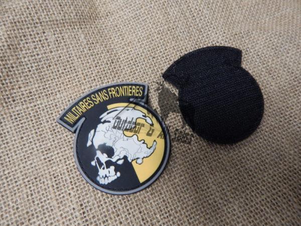 Militaires Sans Frontieres Velcro Patch