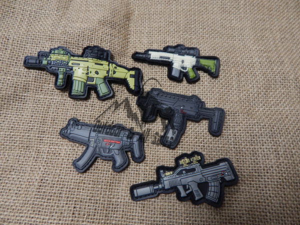 Assorted Velcro Gun Patches
