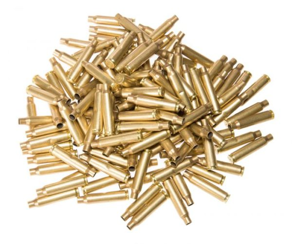 6.5 x 55 Swedish Mauser Used Brass Cases x 50