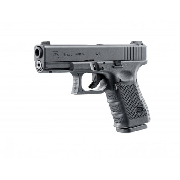 Glock 19 CO2 Air Pistol - 4.5mm, Black