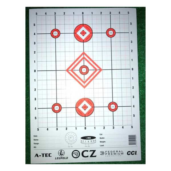 Target Sight-In MOA