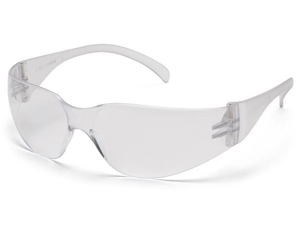 Pyramex Intruder - Clear Lens with Clear Frame