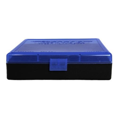 BERRY'S BLUE/BLACK (380/9mm) 100RD AMMO BOX