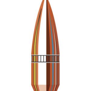 Hornady 22 Cal .224 55 gr FMJ-BT with cannelure (500)
